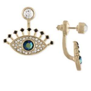 Rachel Rachel Roy Gold Multi-Stone Eye Earrings